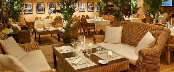 Основной зал ресторана