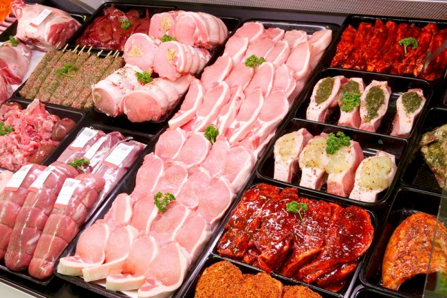 Ассортимент мясной продукции