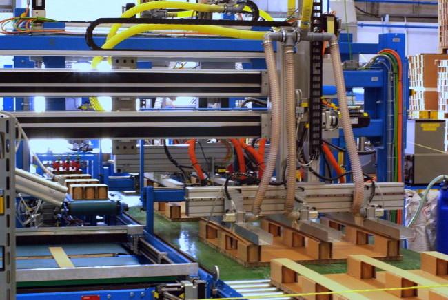 Автоматическая линия по производству палет