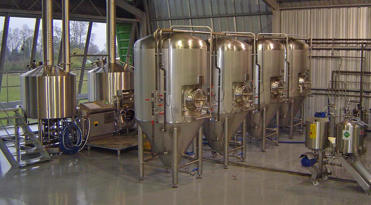 Оборудования для пивоварни