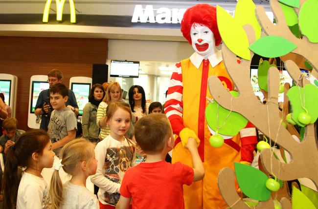 Макдоналдс благотворительность