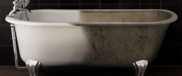 Реставрация чугунной ванны – прибыльный бизнес