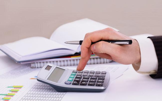 Работа бухгалтера: расчёты
