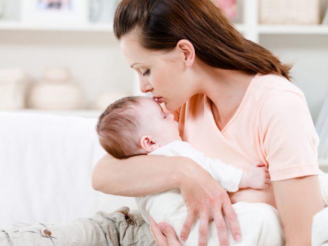 Мать с ребёнком