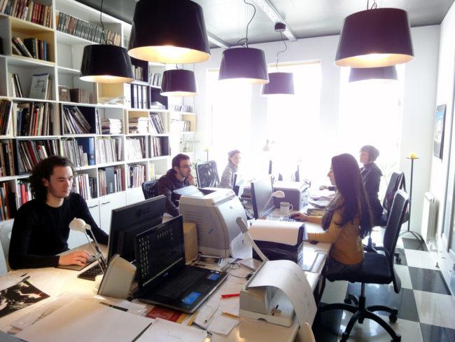 Архитектурно-дизайнерская фирма: сотрудники