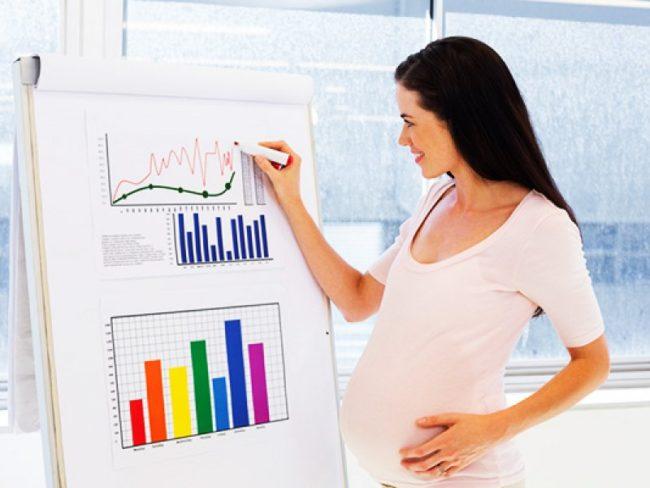 Беременная работница