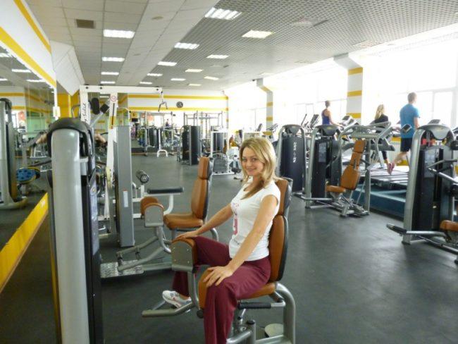 Сетевой фитнес-клуб