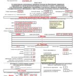 Отчёт для ФСС (лист 1)