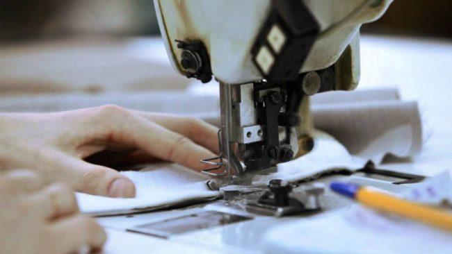 Шитьё на швейной машине