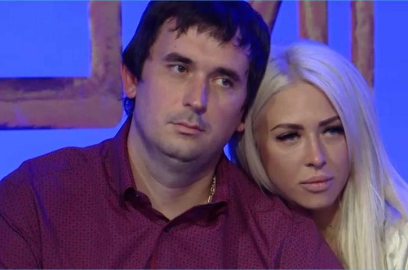 Андрей Шабарин с Анастасией Кочервей в проекте Дом 2