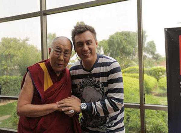 Дмитрий Портнягин и Далай-лама