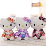 Игрушки Hello Kitty в японских нарядах