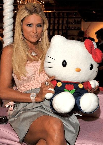 Пэрис Хилтон и Hello Kitty