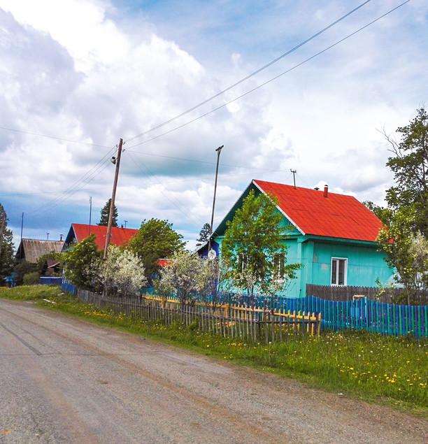Деревня Малый Турыш
