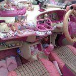 Салон автомобиля Hello Kitty