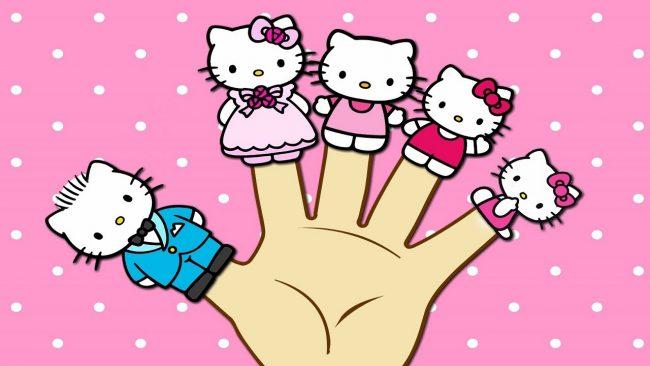 Пальчиковые игрушки Hello Kitty