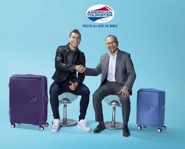 Роналду в рекламе American Tourister