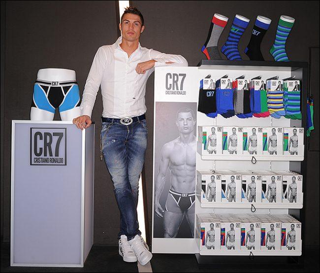 Роналду и его бренд CR7