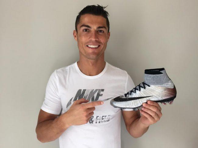 Роналду в рекламе Nike