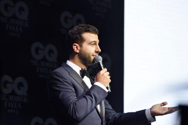 Ургант на церемонии вручения премии «Человек года» от журнала GQ