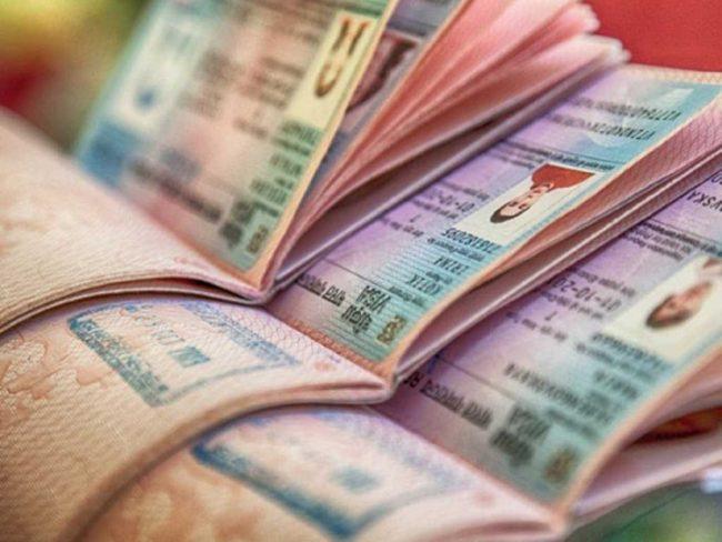 Паспорта иностранных граждан