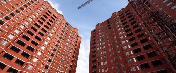 Новое строительство жилого комплекса