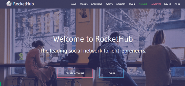 Краудфандинговая площадка Rockethub