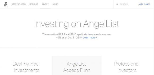 Краудфандинговая площадка AngelList