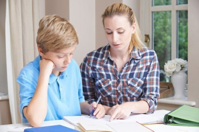 Репетитор с учеником