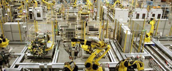 Высокотехнологичная производственная линия сборки