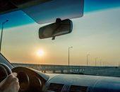 Крымский мост, вид из автомобиля
