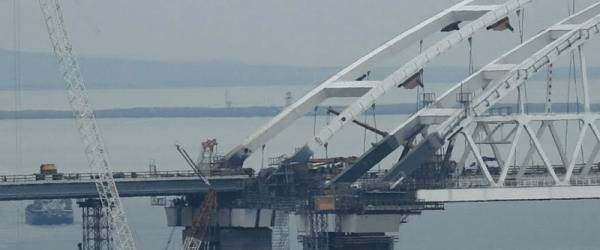 Крымский мост, участок инцидента