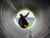Пустой газопровод