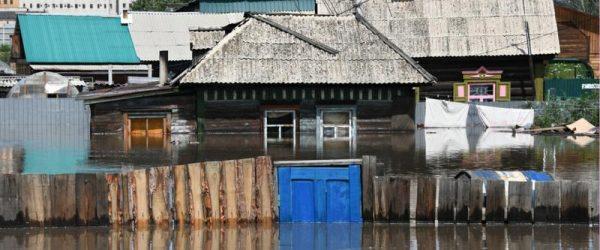 Пострадавшее от наводнения жилье