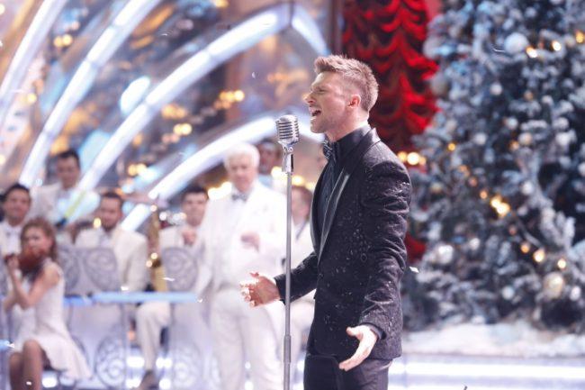 Сергей Лазарев на новогоднем концерте