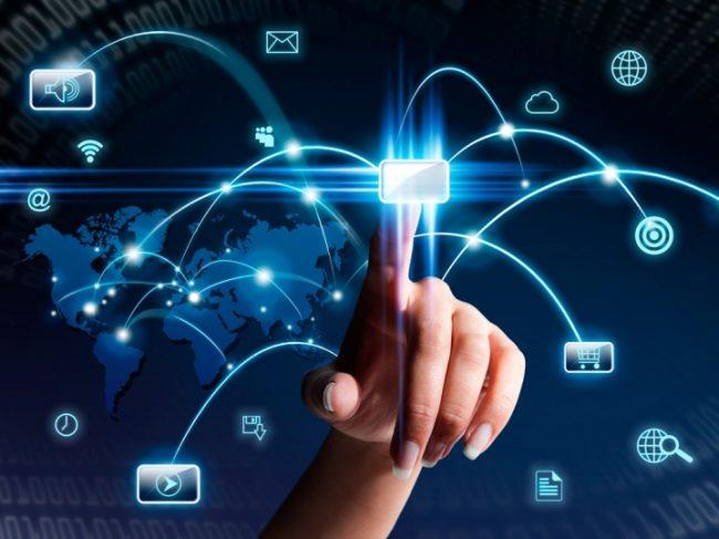 Изображение виртуальных коммуникаций