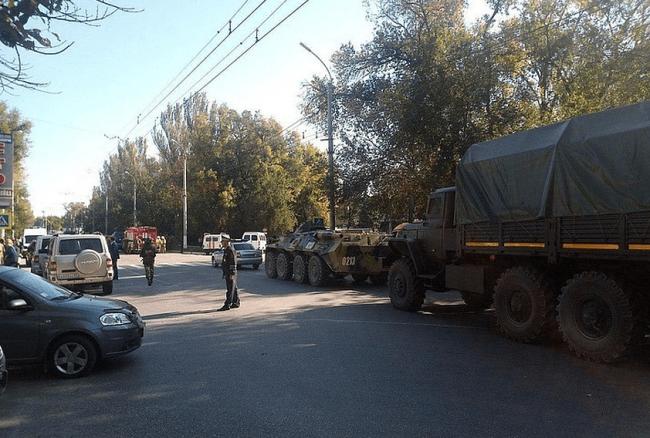Вблизи Керченского политехнического колледжа