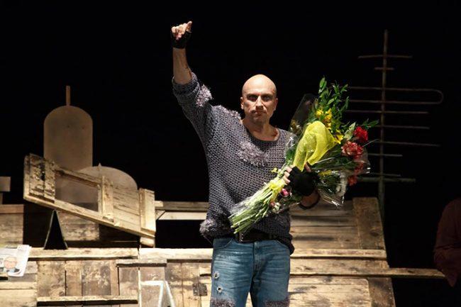 Дмитрий Нагиев на спектакле