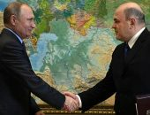 Президент Владимир Путин и глава ФНС Михаил Мишустин