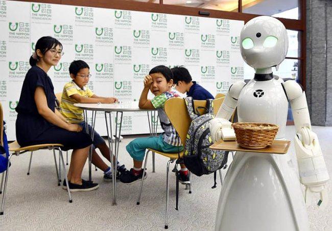 Ресторан с роботом
