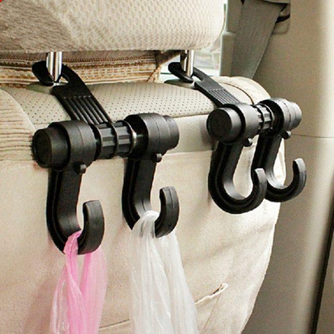 Крючки-держатели для автомобиля