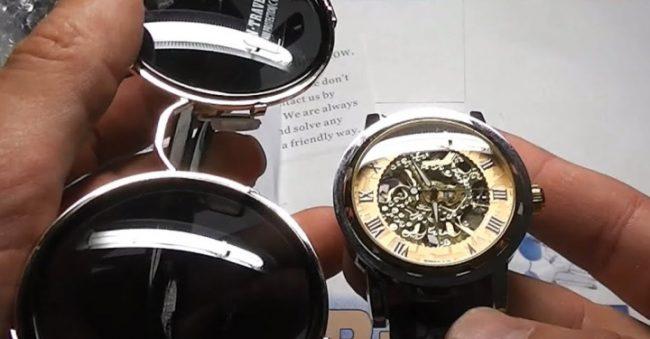 Часы и очки из Китая