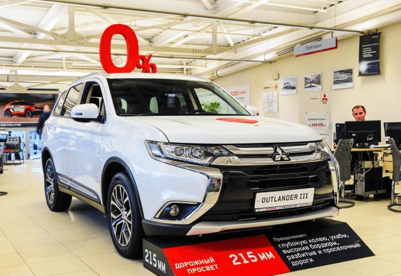 Mitsubishi отзывает из России 63 тыс. кроссоверов Outlander