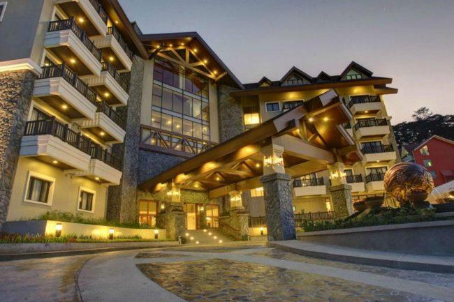 Отель в городке Багио