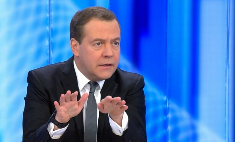 Медведев: «Реальные доходы населения будут расти»
