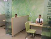 Отделение Сбербанка без клиентов