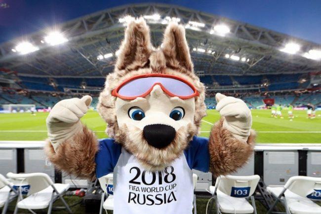 Забивака — символ Чемпионата мира 2018 по футболу