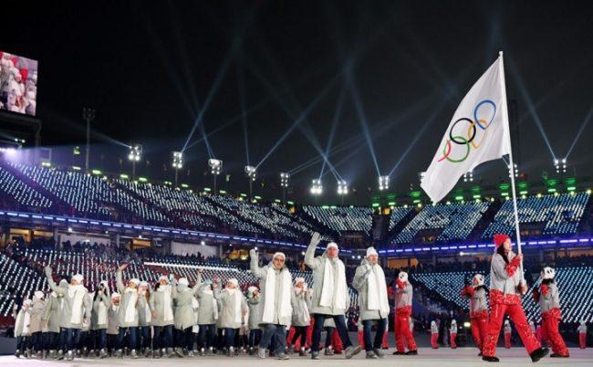 Олимпийская сборкая России под нейтральм флагом