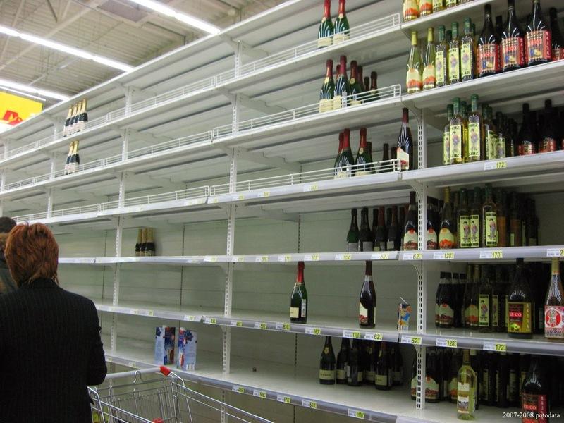На Новый год россиянам может не хватить алкоголя