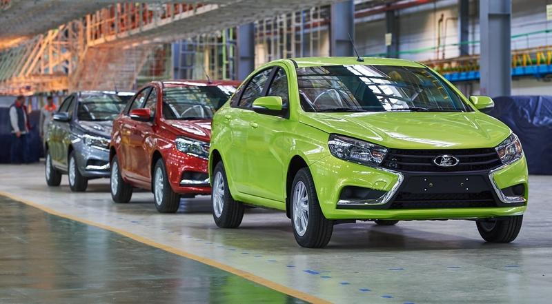 Продажи автомобилей в России вернулись к докризисным показателям